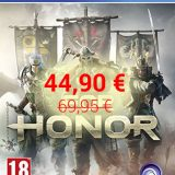 ¡For Honor por sólo 44,90 €! (Xbox One / PS4)
