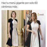 El mismo vestido en Reina Letizia y Susana Díaz
