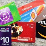 Las 10 mejores formas de comprar tarjetas regalo con Bitcoins